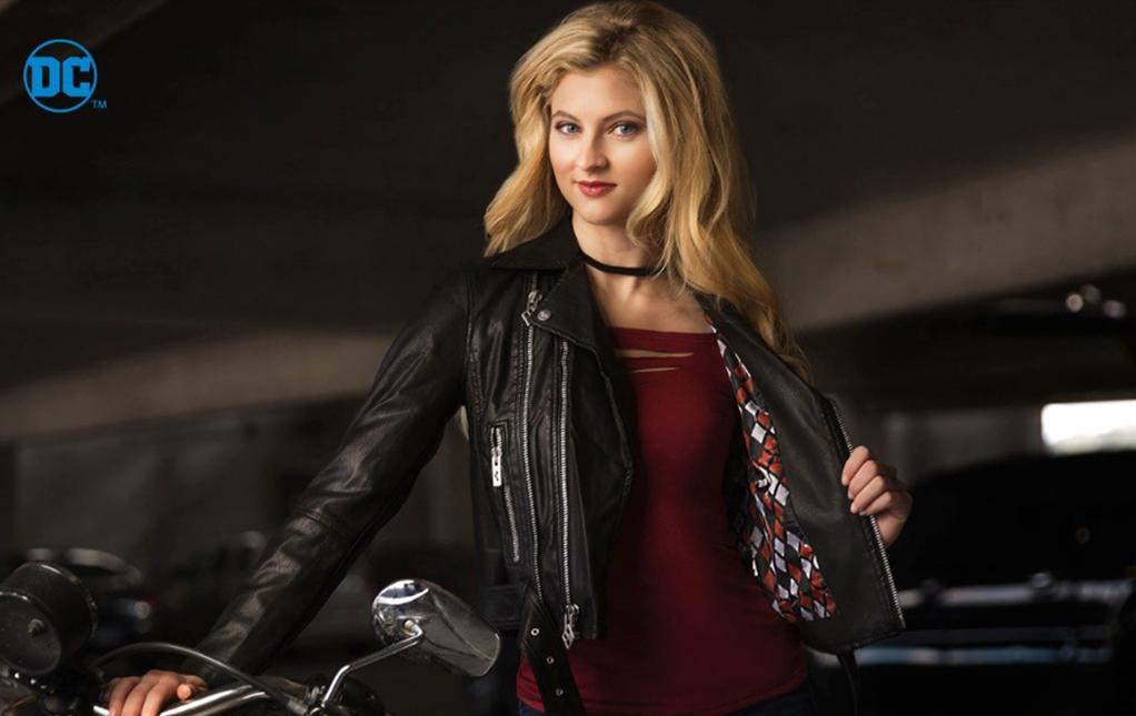 Women's Harley Quinn Moto Jacket