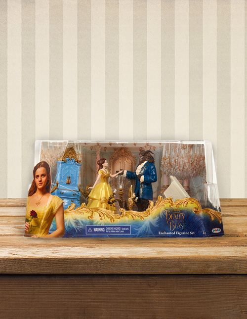 Beauty and the Beast Figure Set