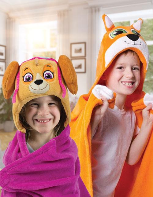 Comfy Critter Blankets