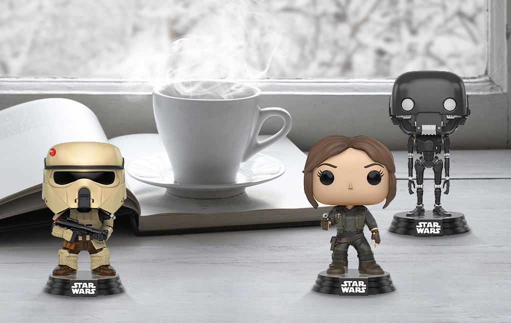 Rogue One Bobbleheads