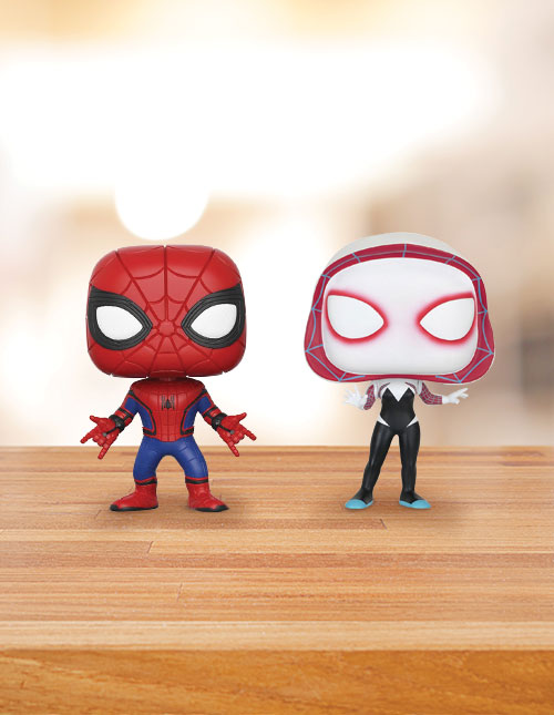Spider-Man Bobbleheads