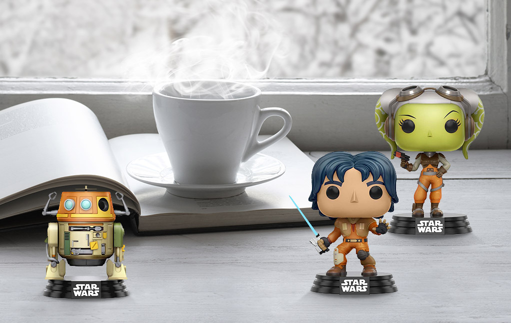 Star Wars Rebels Bobbleheads