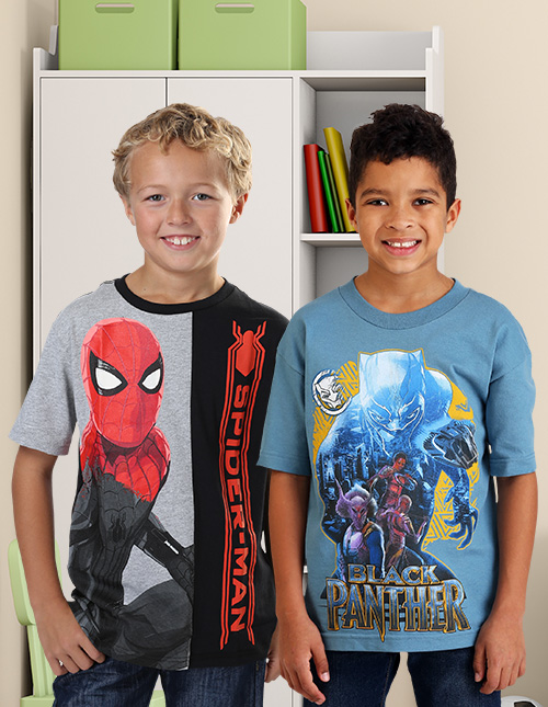 Boys' Marvel T Shirts