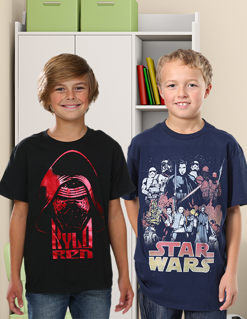 Boys' Star Wars Shirts
