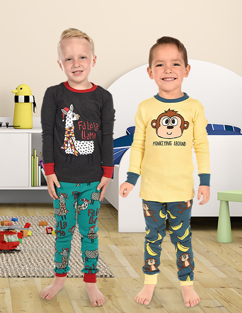 Cute Pajama Sets for Boys
