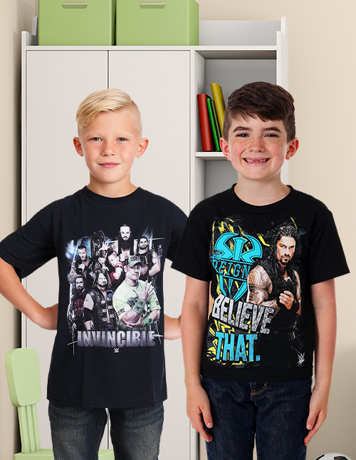 WWE Boys' T-Shirts