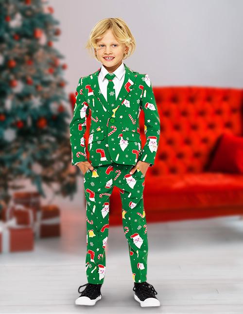 Boy's Christmas Suit