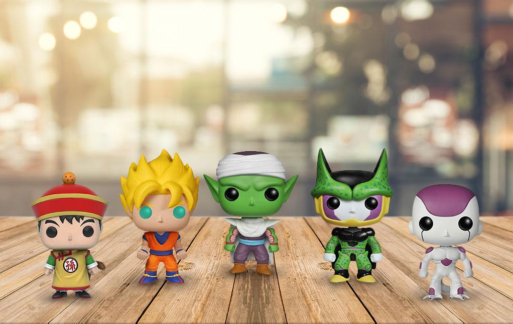Dragon Ball Z Pop Toys