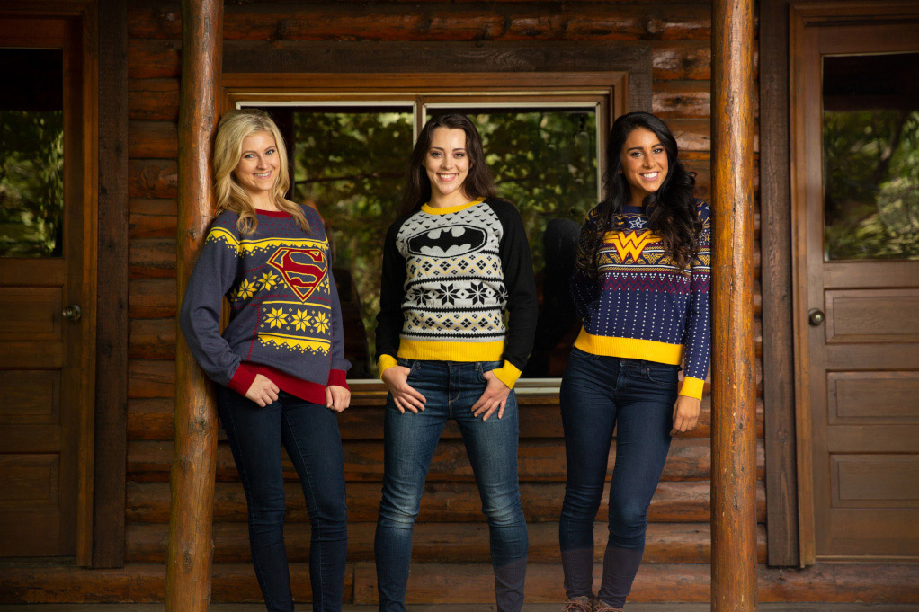 DC Comics Christmas Sweaters