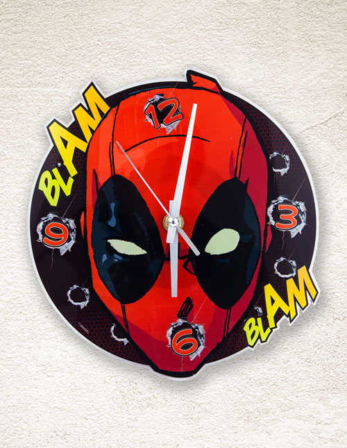 Deadpool Clock
