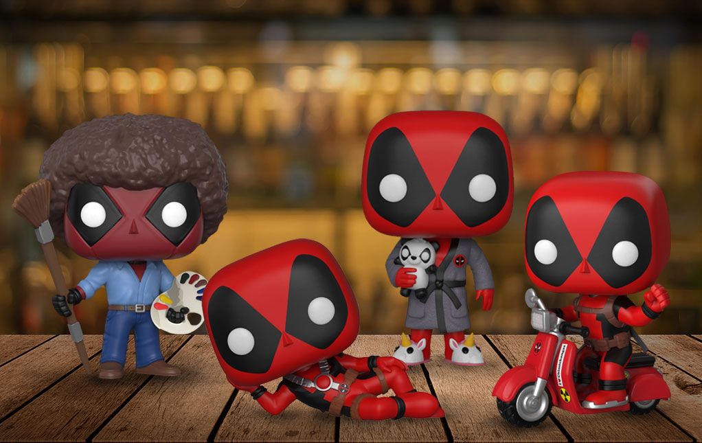 Deadpool Pop! Vinyl Figures