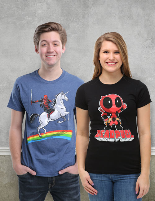 Deadpool Shirts
