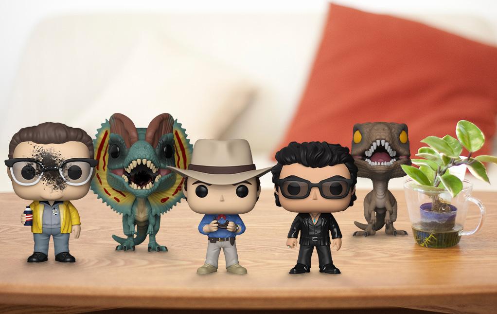 Jurassic Park Funko Pop Figures