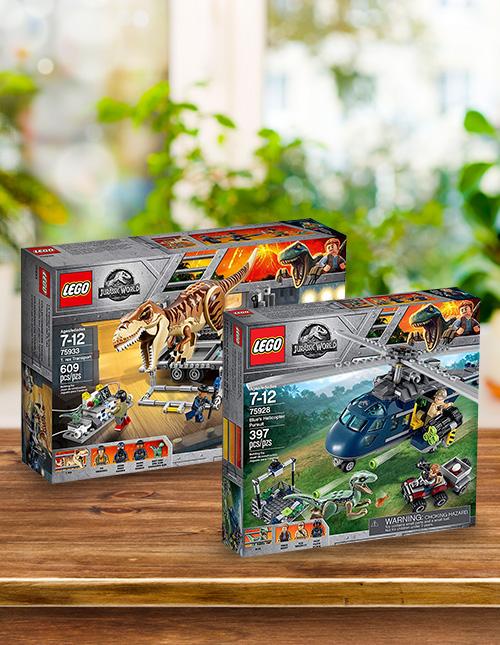 LEGO Jurassic World Sets