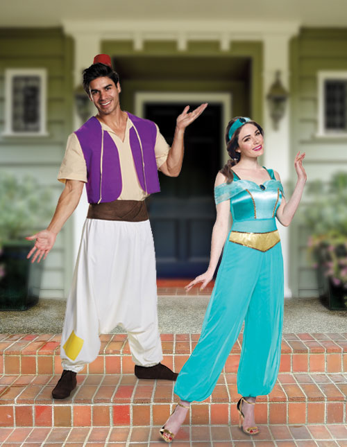 Aladdin and Jasmine Costumes