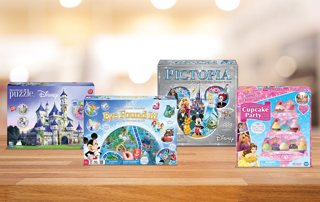 Disney Games and Puzzles