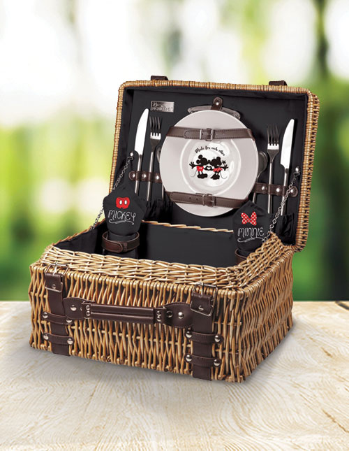 Mickey and Minnie Picnic Basket Set