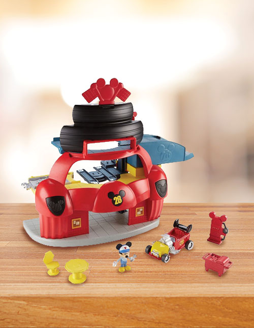 Mickey Roadster Racers Set