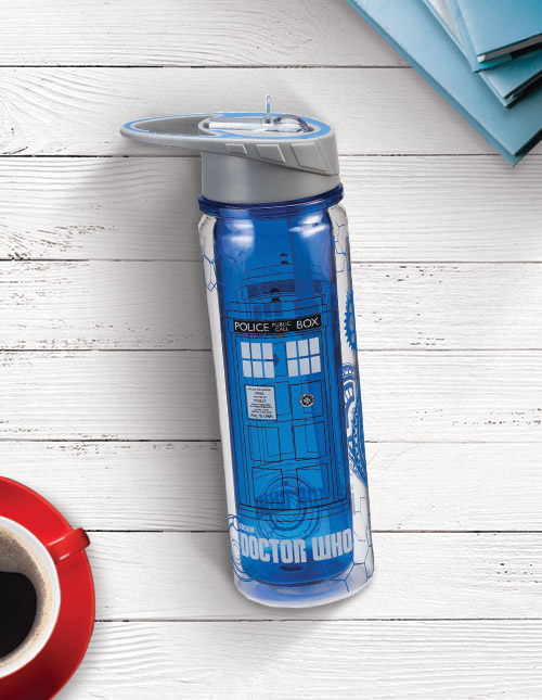 Dr. Who Tardis Water Bottle