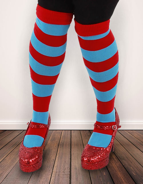 Thing 1 and Thing 2 Socks
