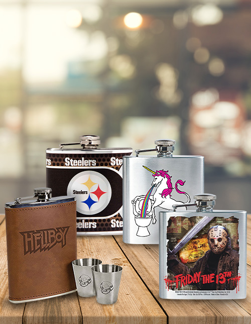 Unique Flasks