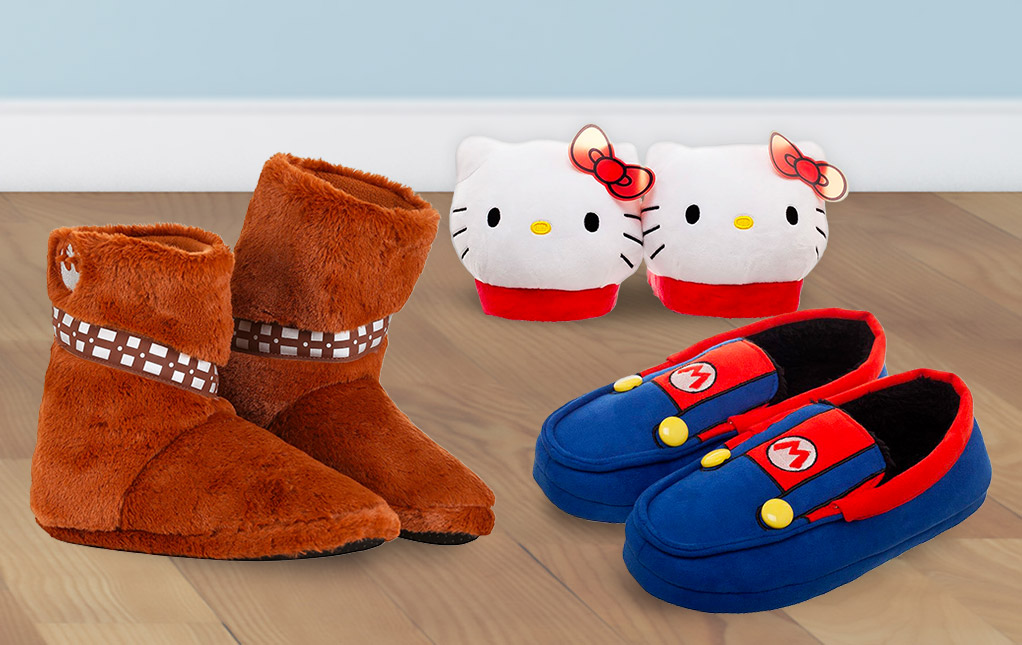Character Slippers for Adults