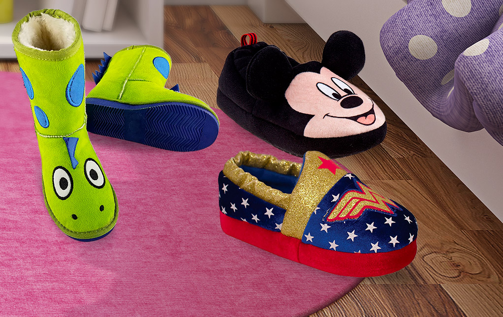 Fun Kids' Slippers