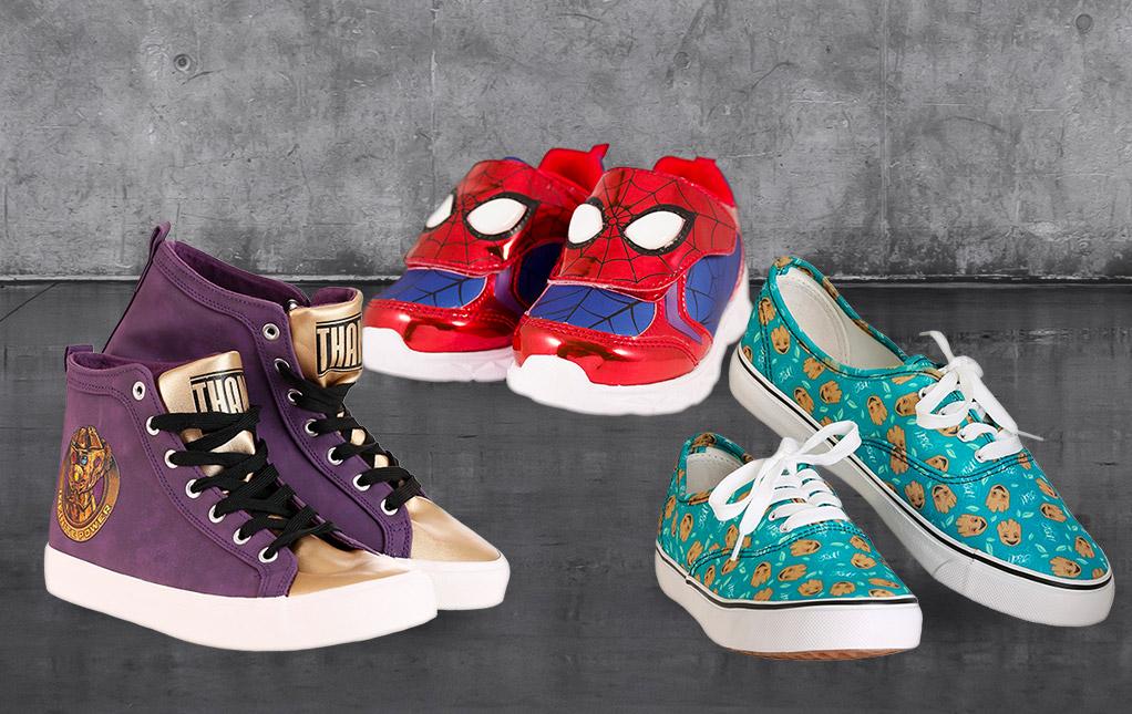 Marvel Comics Shoes