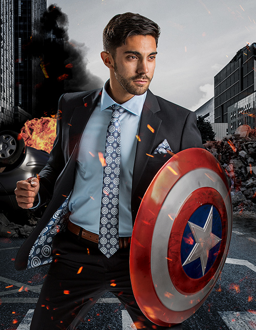 Captain America Suit Jacket