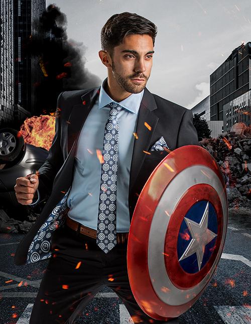 Captain America Suit Jacket