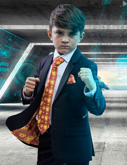Kids' Iron Man Suit