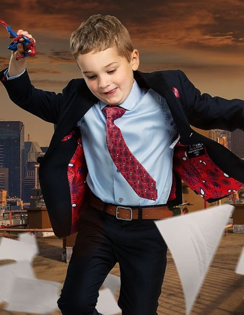 Kids' Spider-Man Suit