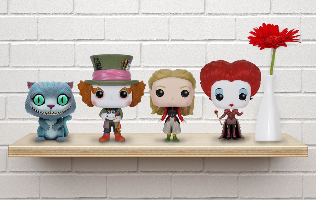 Alice in Wonderland Funko Pops