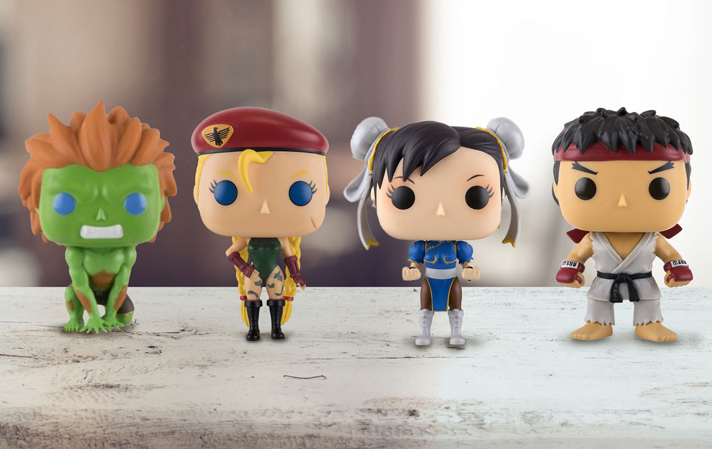 Street Fighter Funko Pops