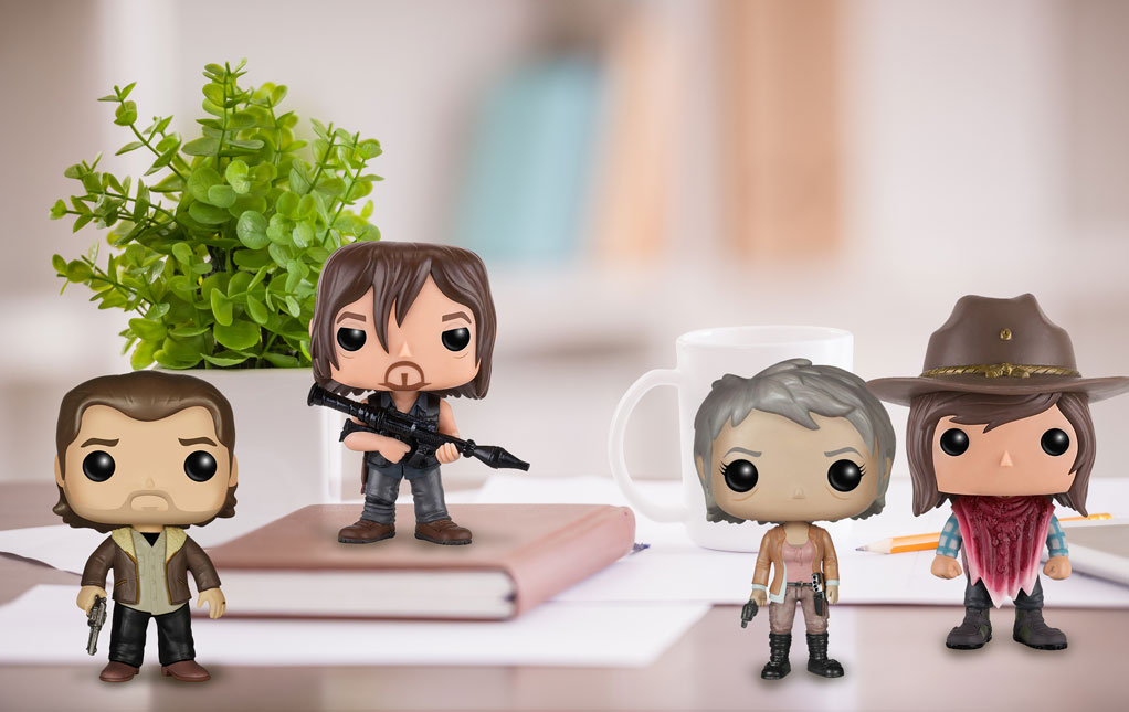 Funko Pops The Walking Dead