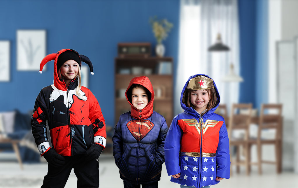Kids' Superhero Coats