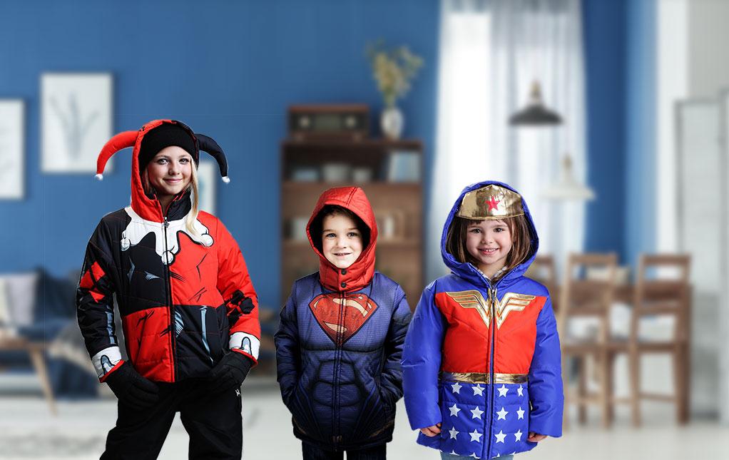Kids' Superhero Coats