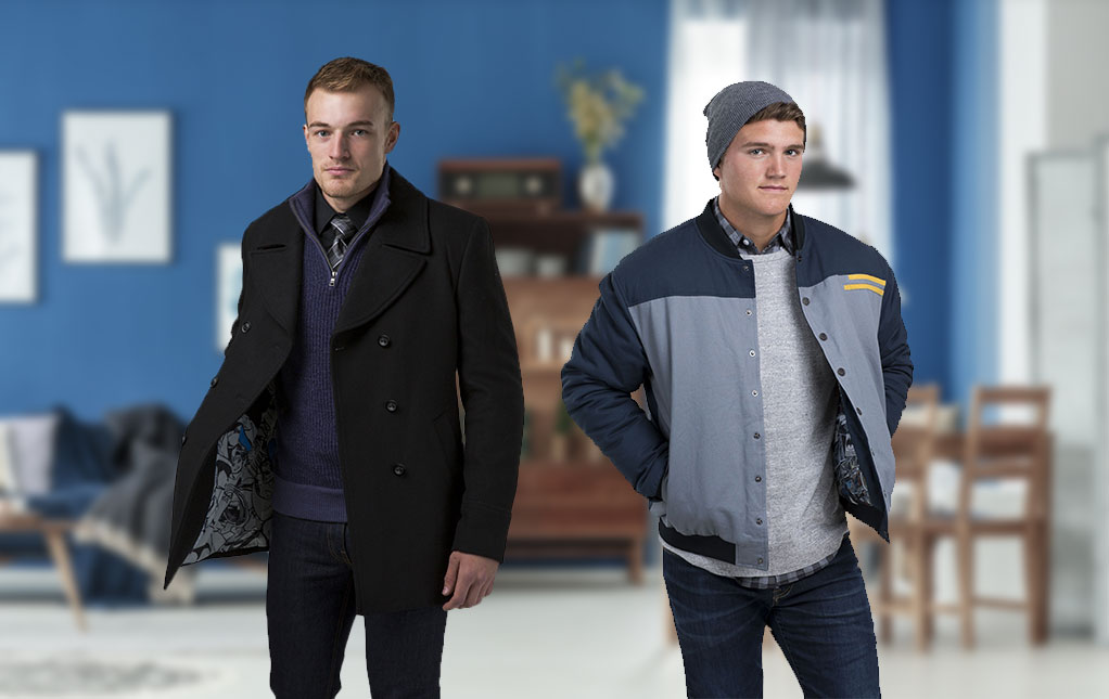 Men's Superhero Coats