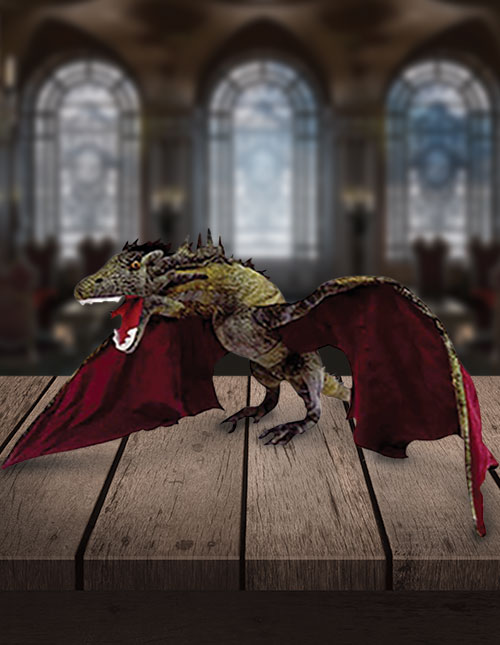 Game of Thrones Dragon Jumbo Plush