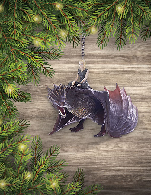 Game of Thrones Drogon Daenerys Ornament