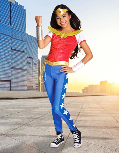 DC Superhero Girls Wonder Woman Costume