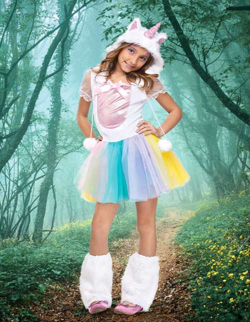 Girl's Unicorn Costume