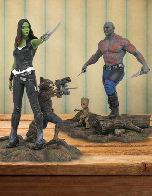 Guardians of the Galaxy Marvel Gallery Figures