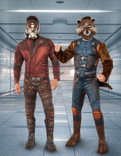 Guardians of the Galaxy Adult Costumes