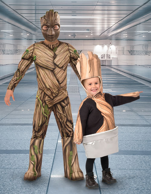Guardians of the Galaxy Groot Costumes