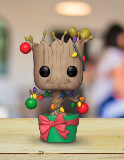 Groot Holiday Funko POP