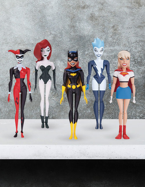 DC Girls Action Figures