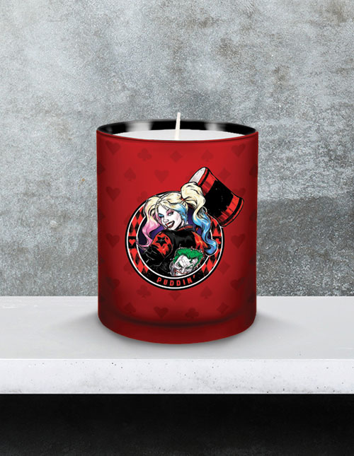 Harley Quinn Candle