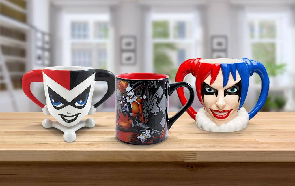 Harley Quinn Mugs