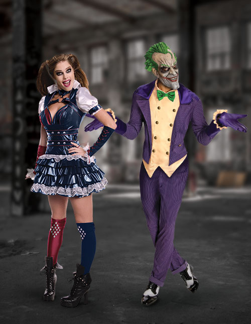 Joker and Harley Quinn Costumes